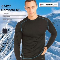 Camiseta Thermoactive M/L SET