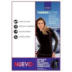 Camiseta AVET M/L Thermoactive