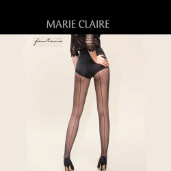 Panty MARIE CLAIRE costura trasera 6 ud.