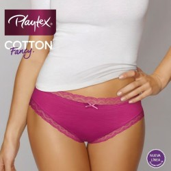 Braga Bikini PLAYTEX Cotton Fancy 2 ud.