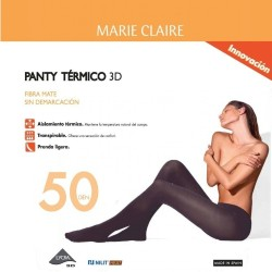Panty MARIE CLAIRE Termal 50DEN 6 ud.