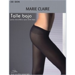 Panty MARIE CLAIRE  talle bajo 50 d. 6 ud.