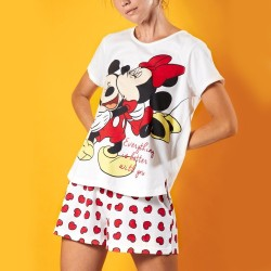 Pijama mujer DISNEY Minnie y Mickey Everything is better with you