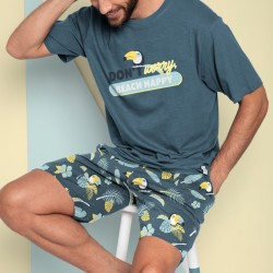 Pijama hombre MR. WONDERFUL Don´t worry beach happy